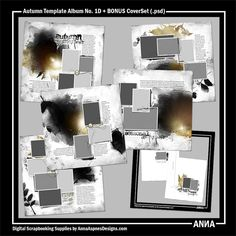 MySt AASPN - Autumn Template Album No. 1D