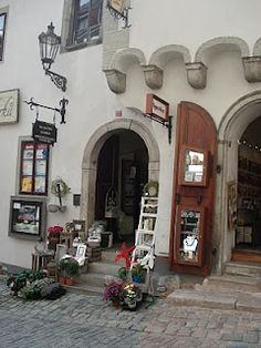 beautiful shop, Cesky Krumlov, Czech Republic