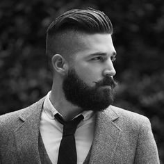 100 must copying hairstyles for men with beard fantastic short haircuts for men with beards 2019 men top 5 hairstyles for men with beards 20 best beard styles for guys with long hair – beardstyle 100 must copying hairstyles for men with beard 27 fade. Undercut Men, Undercut Hairstyles, Cool Hairstyles, Classic Hairstyles, Fashion Hairstyles, Latest Hairstyles, Hipster Hairstyles Men, Undercut With Beard, Popular Hairstyles
