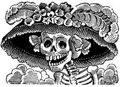 gutenver back: José Guadalupe Posada : Calaveras de Dia de Muertos