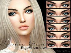 The Sims Resource: Smokey Glam Eyeshadow by Baarbiie-GiirL • Sims 4 Downloads
