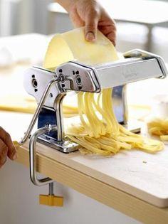 Homemade Fresh Pasta -Where's the messy chef... It's half the fun