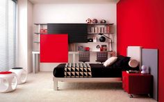 bedroom ideas for teenage girls red. Beautiful Teenage 55 Room Design Ideas For Teenage Girls  Pinterest Red Office Office  Pictures And Intended Bedroom For A