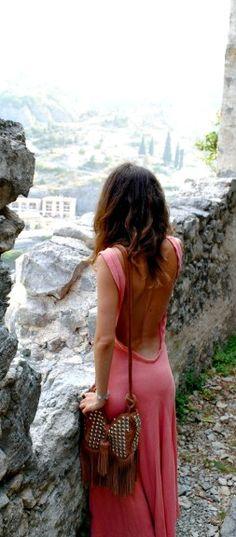 love low back dresses