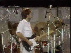 Eric Clapton & Phil Collins - Layla (Live Aid 1985)