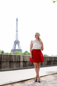 Adorable Bright Red Skirt