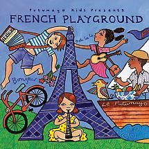 Putumayo Kids World Music CD, French Playground Study French, Learn French, French Songs, Five In A Row, Presents For Kids, French Lessons, Music For Kids, World Music, French Language