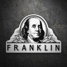 Pegatinas: Franklin #coche #pegatina #sticker
