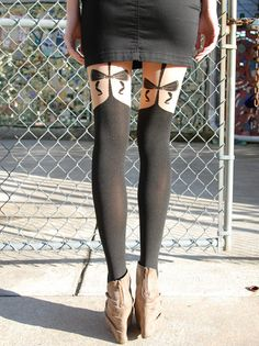 A  fashion-forward alternative to your basic leg wear, these sophisticated sheer tights will dress up any skirt or dress this winter.