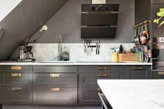 Alvhem makleri och interior, Alvhem, kreativa kvadrat, weekly inspiration, inspirerande kök, gråa kök, skärbrädor