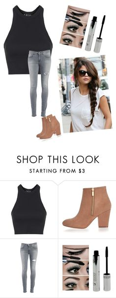 """biker #2"" by foreverawesome123 on Polyvore featuring Topshop, River Island, Dondup, women's clothing, women, female, woman, misses and juniors"