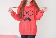 Very cute hoodie for those lazy days when you just have nothing to do, and you just want to look cute.