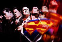 ✭ Superman by Alex Ross. Alex Ross is the shit. Archie Comics, Marvel Comics, Arte Dc Comics, Bd Comics, Marvel Dc, Alex Ross, Dc Comic Books, Comic Book Artists, Comic Artist
