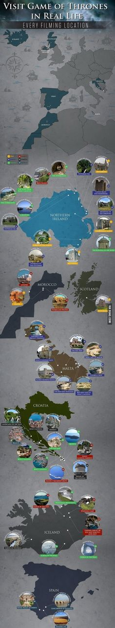 Travel and Trip infographic Game Of Thrones Filming Locations Didn't know they filmed in morocco! Infographic Description Game Of Thrones Filming Game Of Thrones Set, Game Of Thrones Locations, Places To Travel, Places To Visit, Hbo Tv Series, Film Games, Abc Games, Game Of Trones, Travel Tips