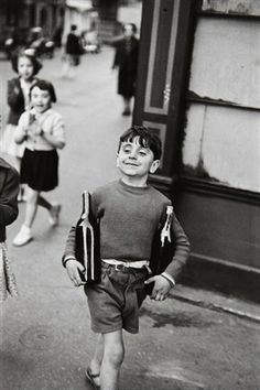 Bid now on Rue Mouffetard, Paris by Henri Cartier-Bresson. View a wide Variety of artworks by Henri Cartier-Bresson, now available for sale on artnet Auctions. Henri Cartier Bresson, Robert Doisneau, Candid Photography, Vintage Photography, Street Photography, Classic Photography, Travel Photography, Photography Workshops, Landscape Photography