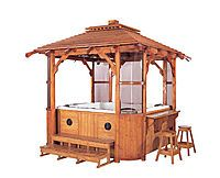 gazebo for hot-tub would love this in yard