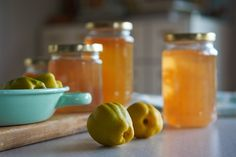 Recipes from our Garden: Quince Jelly