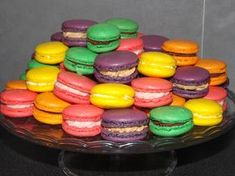 Macaron Thermomix, Thermomix Desserts, Macarons, Ganache Macaron, Mousse, Cake Recipes, Dessert Recipes, Kolaci I Torte, Greek Recipes
