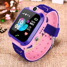 Waterproof Smart Watch LBS Kid Baby Watch for Children SOS Call Location Finder Locator Tracker Anti Lost Monitor+Box - latest mobile accessories Location Finder, Bluetooth, Emergency Call, You Are The World, Goods And Services, Cool Watches, Unusual Watches, Smart Watch, Close Up