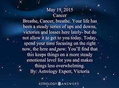 The Astrology Answers Daily Horoscope for Tuesday, May 19, 2015 #astrology