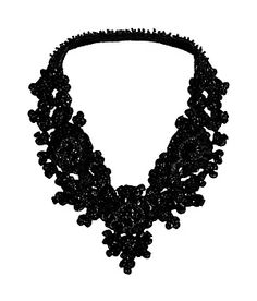Statement-making sequin necklace from Hoss Intropia.