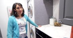 You Won't Believe What This Clever Mother of 6 Did To Her Laundry Room