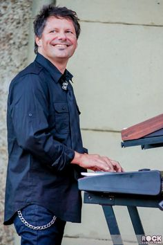 Paul Gordon (1963-2016) was an American musician, composer, and producer. A keyboardist and guitarist, he was a member of New Radicals and the keyboardist for the B-52s from 2007 until his death in 2016. On February 18, 2016, Gordon died in Nashville, Tennessee, at age 52, from complications of heart disease
