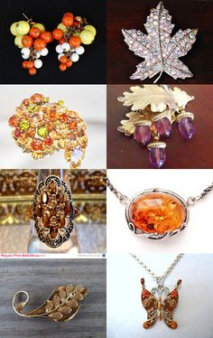 Fall In Love With The Vintage Jewelry Team by Marirose on Etsy--Pinned with TreasuryPin.com