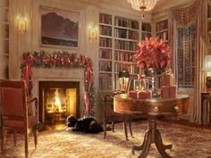 Christmas Fireplace Images | Christmas Fireplace Images 1600x1200 320929 1600x1200px Wallpapers # ...
