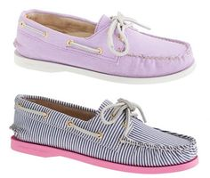 Jcrew and Sperry Top Siders