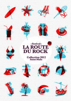 Margot Abellard - GraphisteIdentités visuelles : La Route du Rock