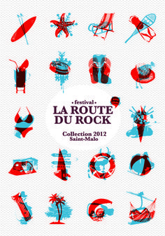 Margot Abellard - GraphisteIdentités visuelles : La Route du Rock