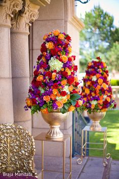 Floral  Decor http://maharaniweddings.com/gallery/photo/22796