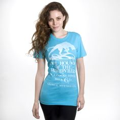 The Hound of the Baskervilles book cover women's t-shirt | Outofprintclothing.com