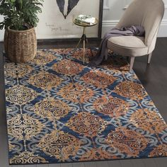 The Evoke Collection of fashion-forward Frieze area rugs is a marvelous display of dazzlingly designed, durable indoor carpets. Evoke rugs are an outstanding fusion of fashion forward patterns, comfor