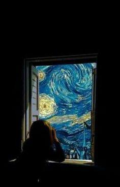 Van Gogh Wallpaper, Wallpaper Backgrounds, Aesthetic Pastel Wallpaper, Aesthetic Wallpapers, Animes Wallpapers, Cute Wallpapers, Iphone Wallpapers, Van Gogh Arte, Surreal Art