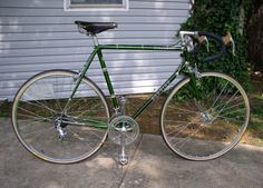 1978 Schwinn Paramount - I bought this Paramount in December 2011 from the original owner. I ordered a providence report from Schwinn Waterford that indicated this 1978 Paramount Vintage Bicycles, Tricycle, Touring, Cycling, Steel, Veils, Bicycle, Biking, Bicycling