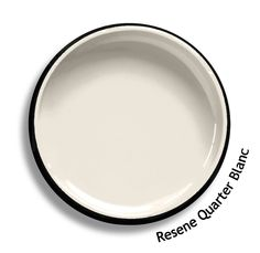 Resene Quarter Blanc is a chic French white, elegant and a la mode. From the Resene Whites & Neutrals colour collection. Try a Resene testpot or view a physical sample at your Resene ColorShop or Reseller before making your final colour choice. www.resene.co.nz