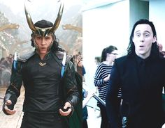 Just Tom Hiddleston — Get you a man who can do both.