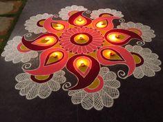 """""""les jolies créations colorées de l'artiste Shanthi Sridharan"""""""