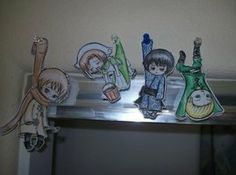 Hetalia Paper Children by crystalice96