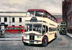 Cooperline: A portfolio of the transport art and photography of W. Road Transport, Public Transport, Classic Trucks, Classic Cars, Transport Pictures, Bus Coach, Bus Station, Busses, Commercial Vehicle