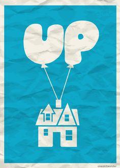 Minimal Movie/TV Poster Series by Alison AJ Zhu, via Behance