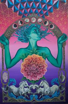 New trippy art drawing sacred geometry Ideas Trippy Hippie, Art Hippie, Hippie Peace, Psychedelic Art, Art Et Illustration, Illustrations, Art Inspo, Psy Art, Photocollage