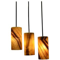 Hanging Onyx Lamps | From a unique collection of antique and modern table lamps…