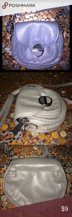 Kirna Zabete Gray Faux Reptile Crossbody Bag. Kirna Zabete For Target. Gray Faux Reptile Crossbody Bag. Made From A Non Leather Material. Clean Inside & Out. Flap Over Close. 7 x 6. Questions Welcome Thanks For Looking. Kirna Zabete Bags Crossbody Bags