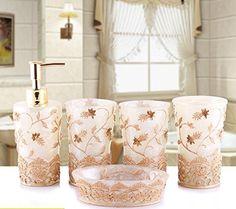 WYMBS Christmas gift simple Europeanstyle Resin bathroom toiletriesM