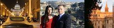 James Bond and Monica Bellucci: Via della Conciliazione near the Vatican, Capitol Hill and Santa Maria Maggiore Basilica