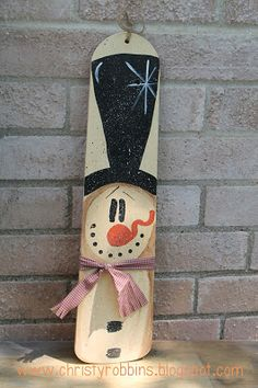 Christy: Snowman Fan BladeYou can find Snowman and more on our website. Christmas Wood, Primitive Christmas, Christmas Projects, Primitive Snowmen, Primitive Crafts, Country Christmas, Snowman Crafts, Holiday Crafts, Snowman Pics