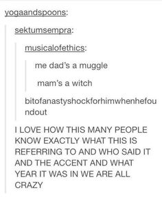 """This text post that you can actually HEAR. 